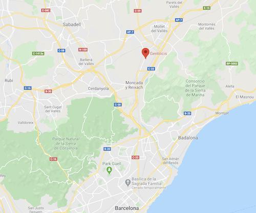 Gentilicis ubicación en Google Maps