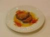 Empanadillas rellenas de crema pastelera con naranja confitada